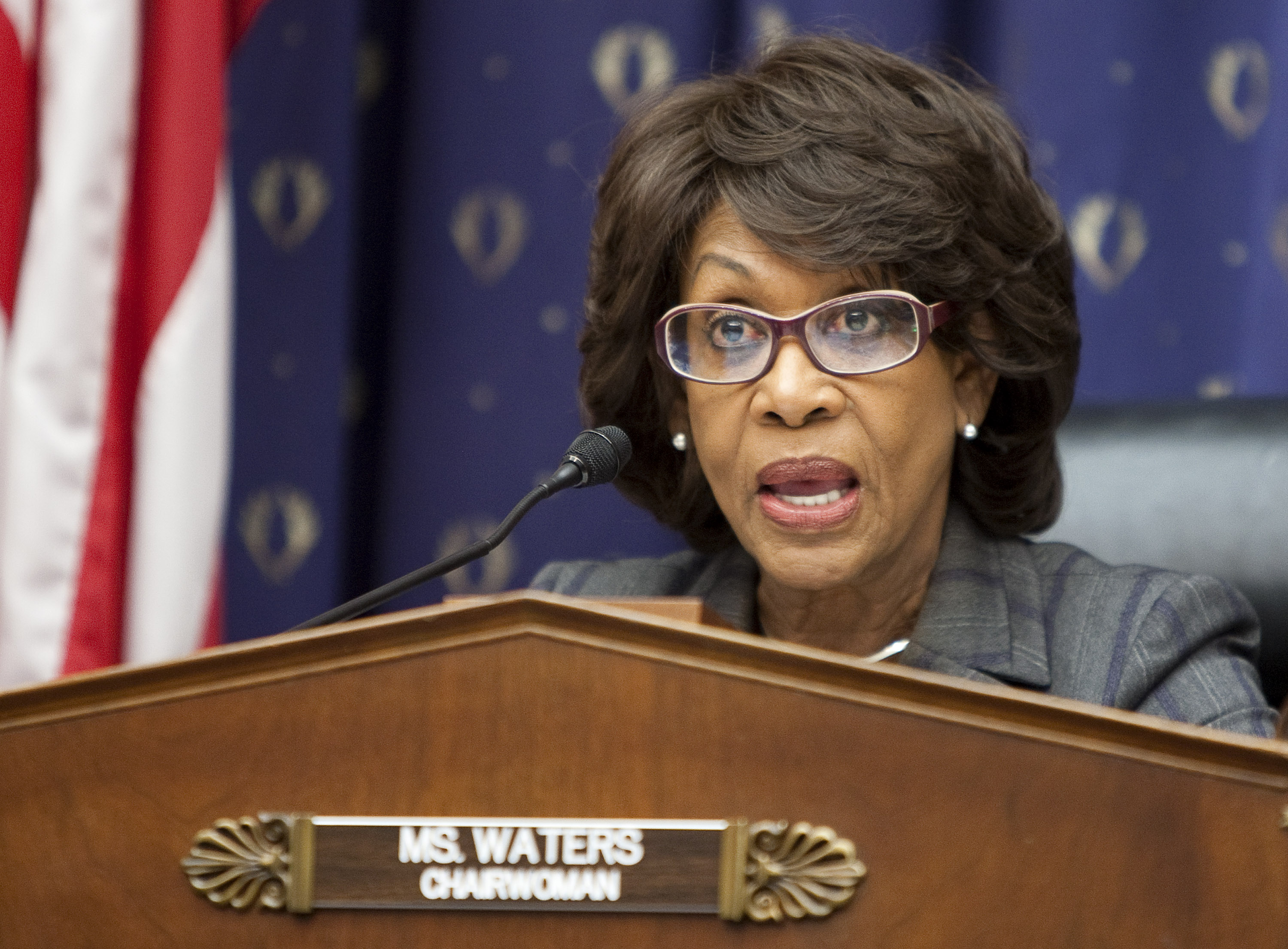 maxine waters russian investments