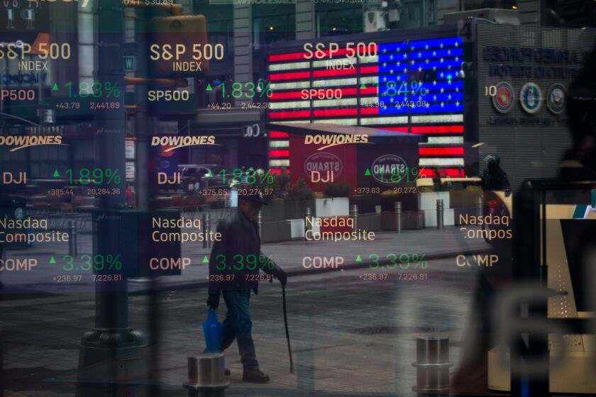 Stock market-stock volatility-coronavirus-Bloomberg News