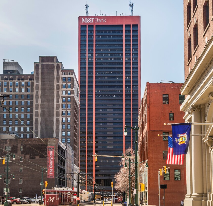 Seneca One Tower in Buffalo