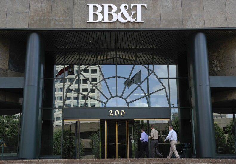 BB&T sign