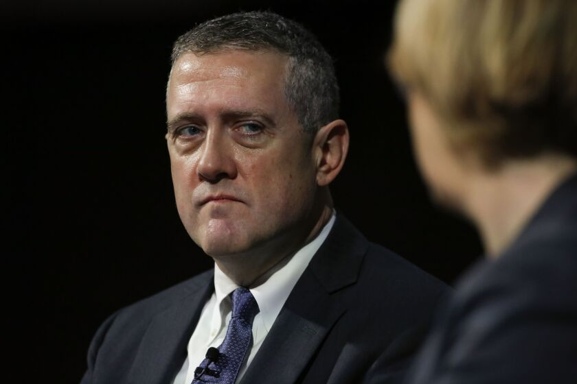 St. Louis Fed President James Bullard says that unemployment insurance should cover close to 100% of Americans' lost pay.