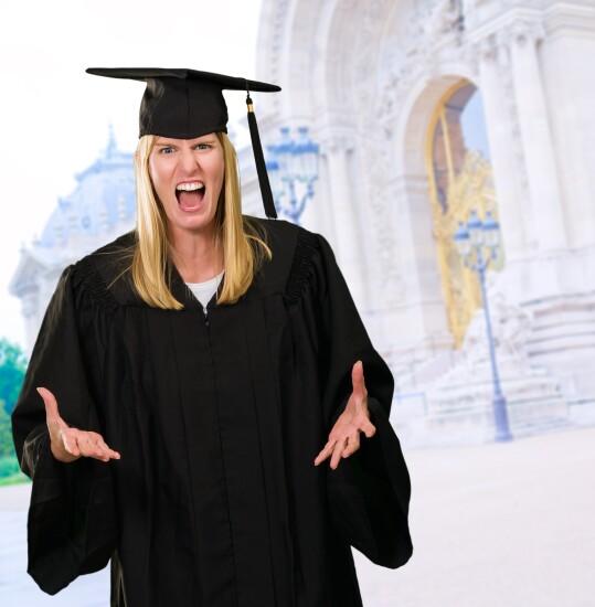 Graduate - Angry
