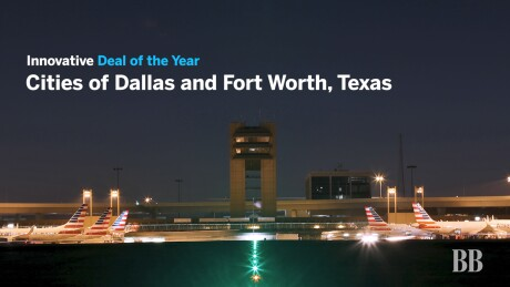 Thumbnail for Video: Deal of the Year 2019 — Innovative: Cities of Dallas and Forth Worth, Texas