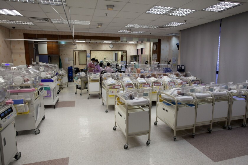 Baby nursery maternity