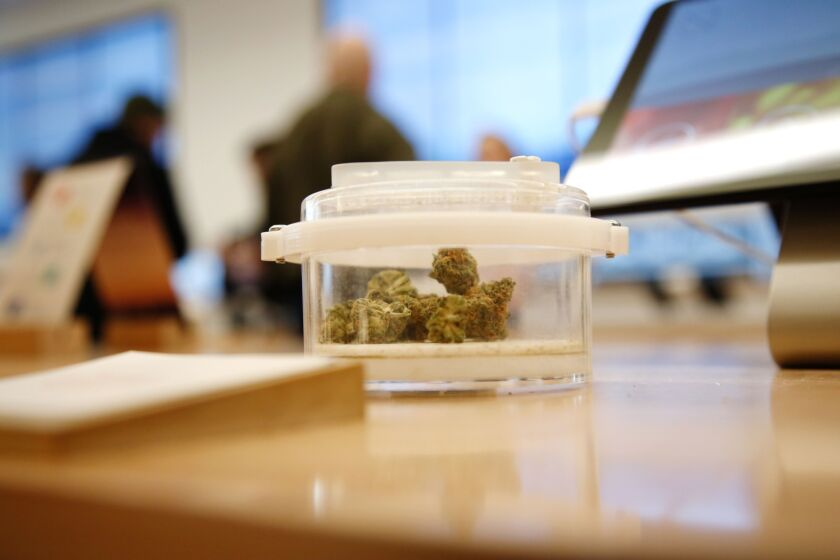 A blue wave wouldn't allow cannabis firms to accept card payments, but it would enable change