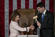 Nancy Pelosi and Paul Ryan