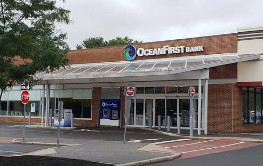 OceanFirst Bank branch in Shrewsbury