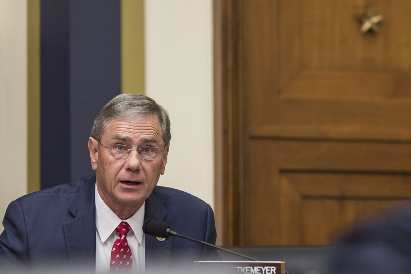 """""""This provision acknowledges the procyclical nature of CECL is a threat to our economy and the ability for small businesses to access credit when they need it most,"""" said Rep. Blaine Luetkemeyer, R-Mo."""