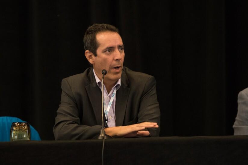 Jorge Ortega, Visa's senior director of global financial inclusion