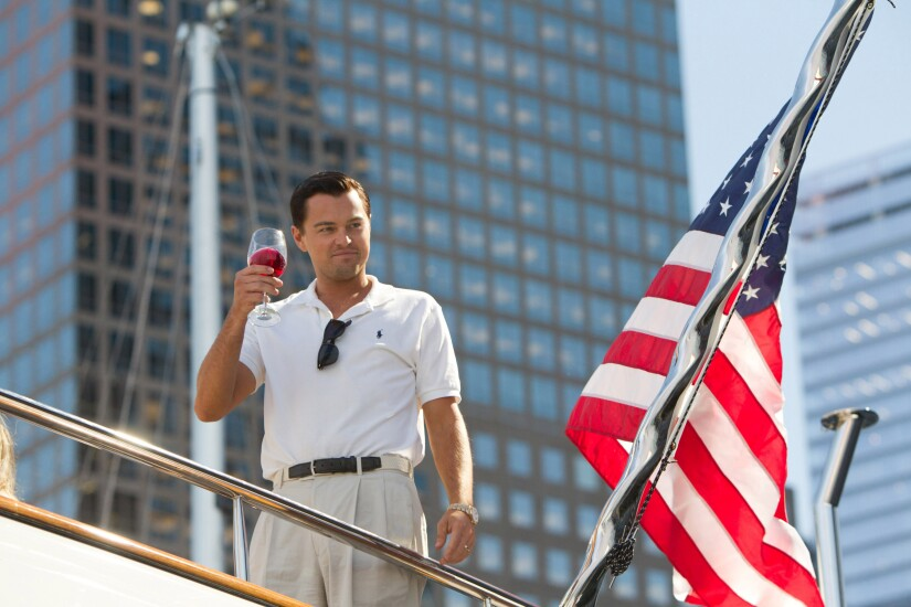CAN'T USE. ONE USE ONLY  Jordan Belfort, Wolf of Wall Street (portrayed by Leonardo DiCaprio)