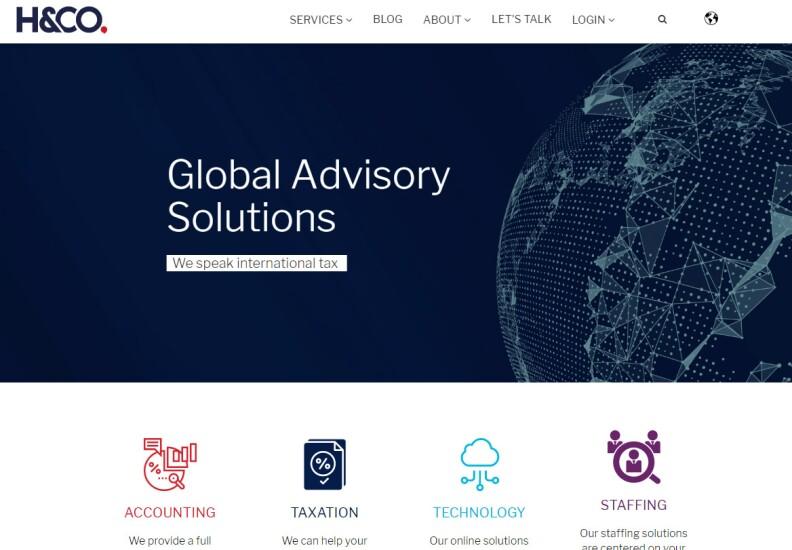 H&Co web site 2019 Best Firms