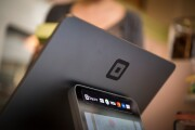 Square's point-of-sale device.