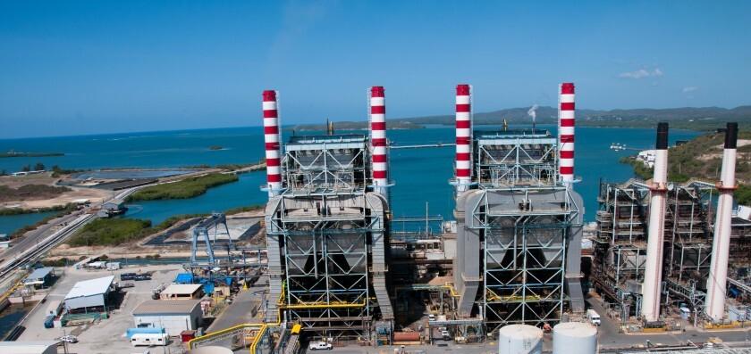 Guayanilla PREPA power plant