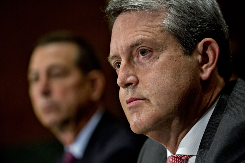 Randal Quarles, Fed vice chair of banking supervision