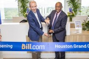 Bill.com Houston office ribbon cutting