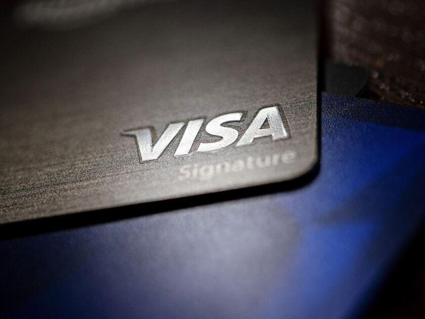 Visa card image