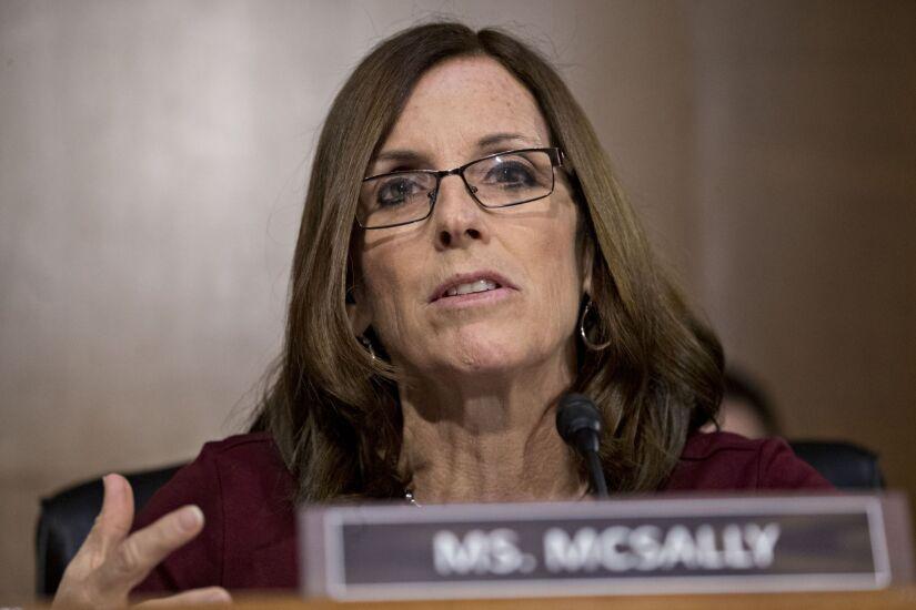 Senator Martha McSally, a Republican from Arizona