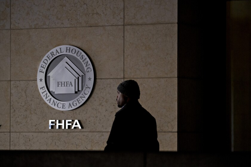 """The move aims to provide additional liquidity for small and community banks to """"support the small businesses in their communities,"""" the FHFA said in a statement."""
