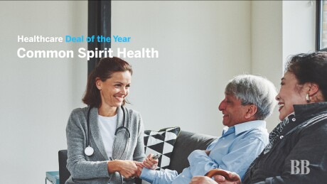 Thumbnail for Video: Deal of the Year 2019 — Health Care: CommonSpirit Health