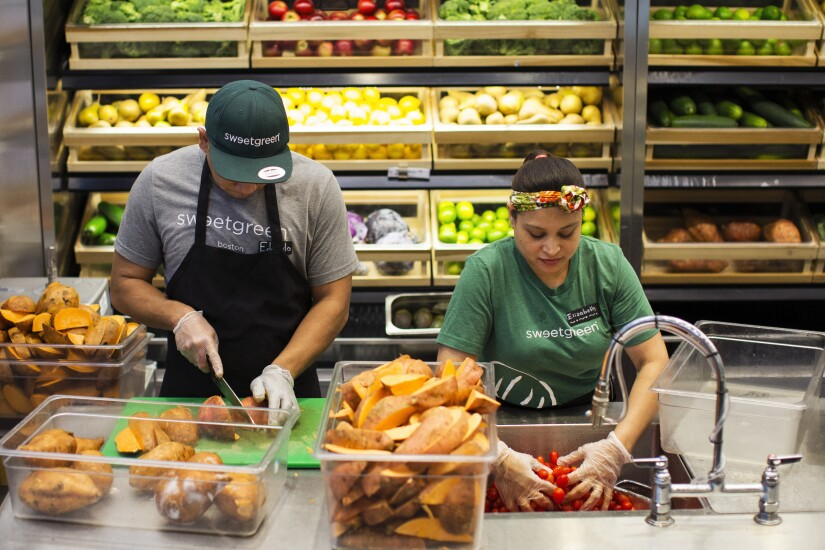 Sweetgreen workers