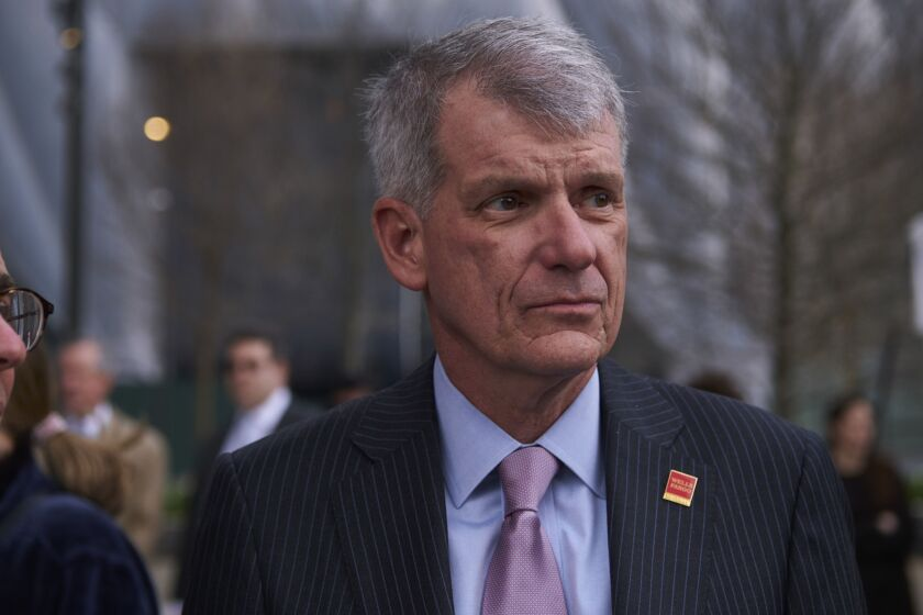Tim Sloan, former president and chief executive officer of Wells Fargo.