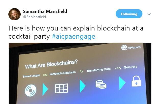 Engage 2018 - Blockchain cocktail