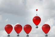 Competitive edge, balloons, hot air