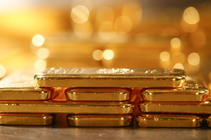 Most gold ETFs are backed by the metal itself, instead of futures contracts, says Kanish Chugh, co-head of sales at ETF Securities.
