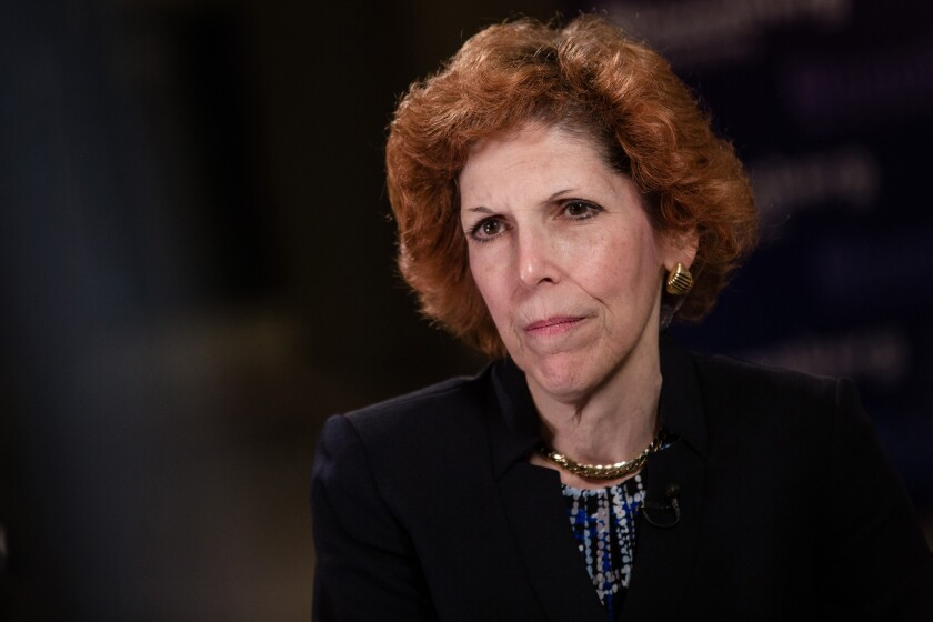 Federal Reserve Bank of Cleveland President Loretta Mester