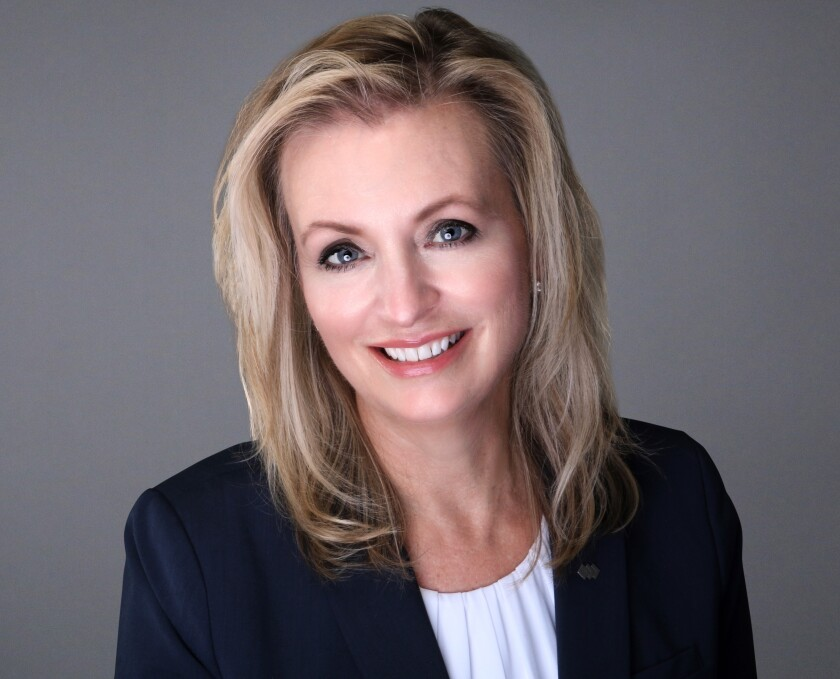 Jane Allerman-Rey will become president of Spencer Savings Bank in January.