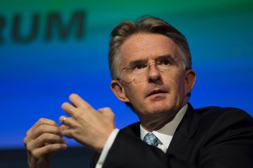 John Flint, CEO of HSBC.