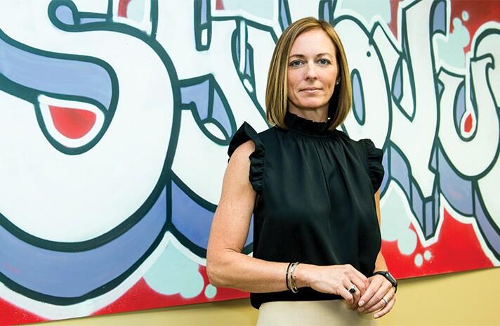 Liz Wolverton, Synovus Financial