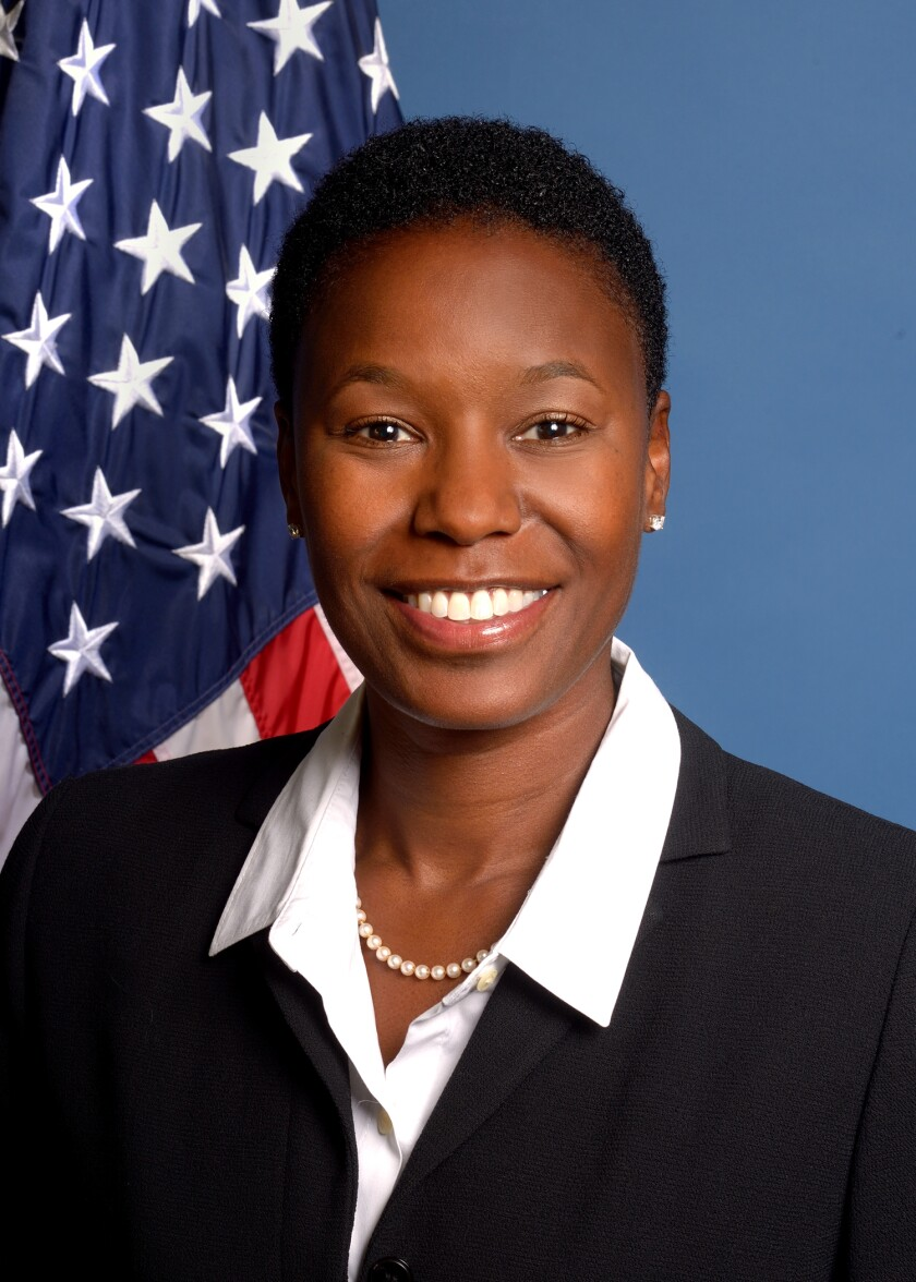 Monica Davy, director of the Office of Minority and Women Inclusion at the National Credit Union Administration