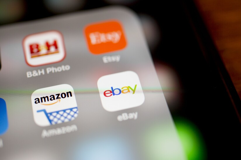 Amazon and eBay apps
