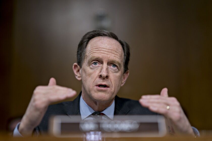 """Given her assurances, I intend to support Dr. Shelton's nomination,"" said Sen. Pat Toomey, R-Pa."