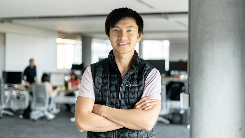 Paul Gu, co-founder and head of product at Upstart