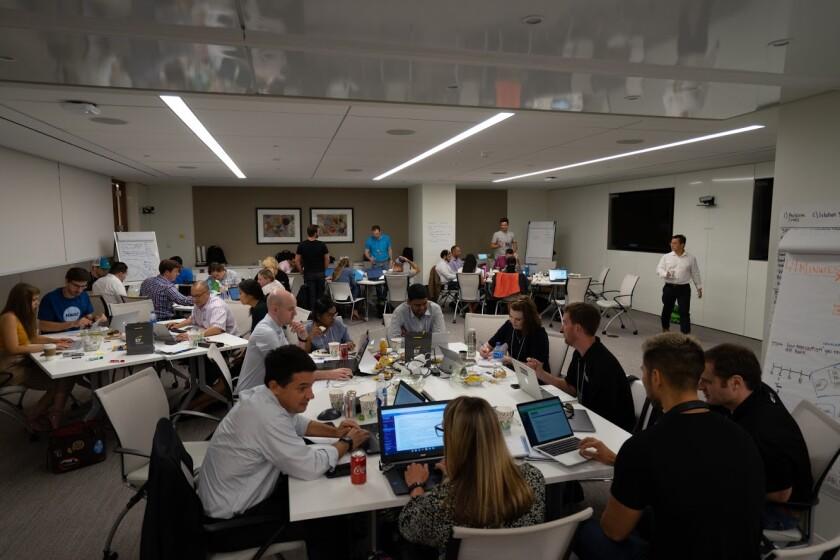 An August 2019 regulatory hackathon in Washington.