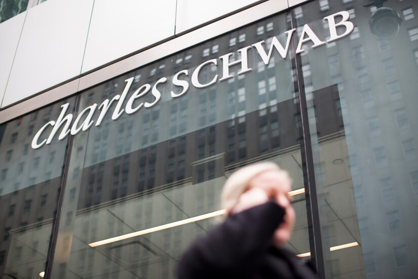 Charles Schwab custodian window Bloomberg April 22, 2019