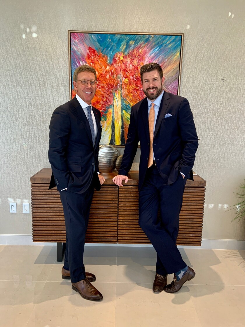 Chairman Harris Fishman and CEO Jeremy Straub of Coastal Wealth