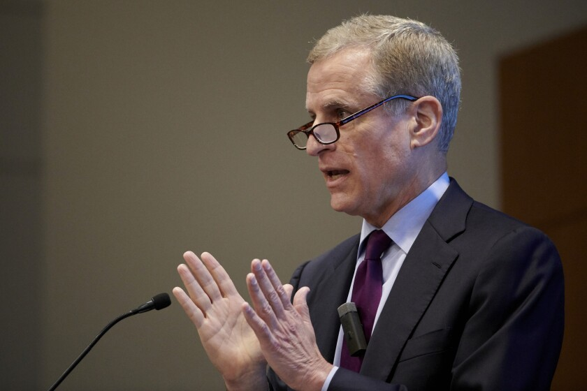Federal Reserve Bank of Dallas President Robert Kaplan