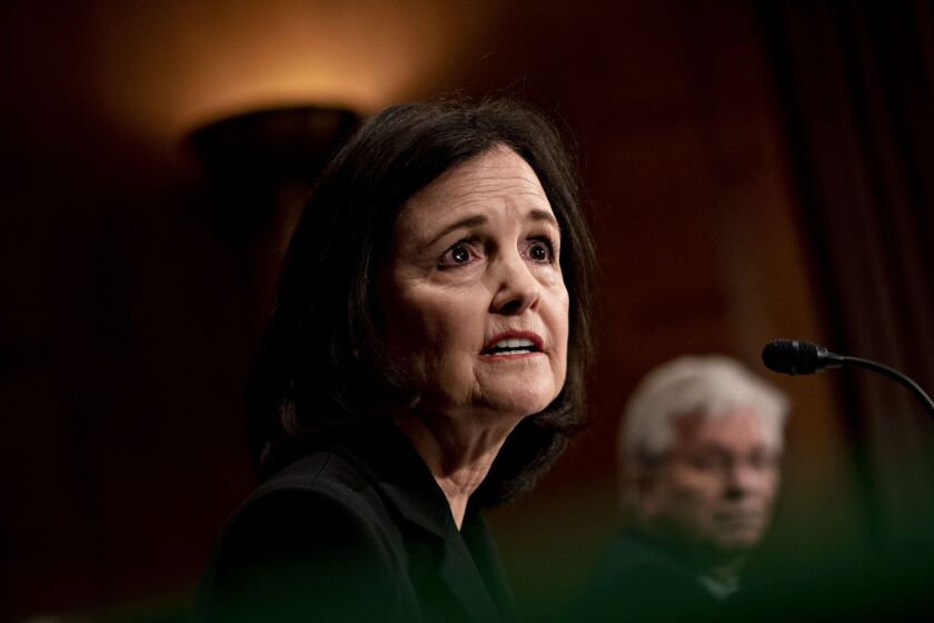 A number of senior Republicans on the committee raised concerns about Judy Shelton's nomination because of her views regarding the need for deposit insurance and whether the Fed should be independent from outside influence.