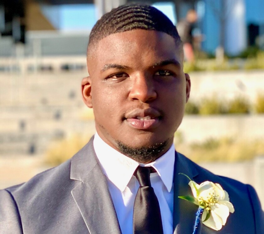 Jamarkus Swinson, recent North Carolina A&T grad selected for the first class of Piedmont Federal Savings Bank's new development program