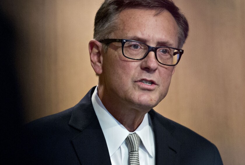 Federal Reserve Vice Chairman Richard Clarida