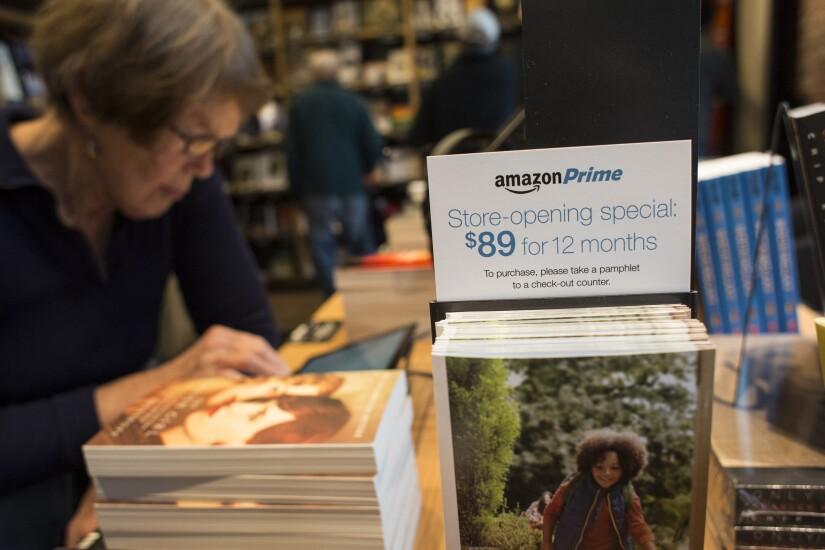 Amazon Prime in-store signage