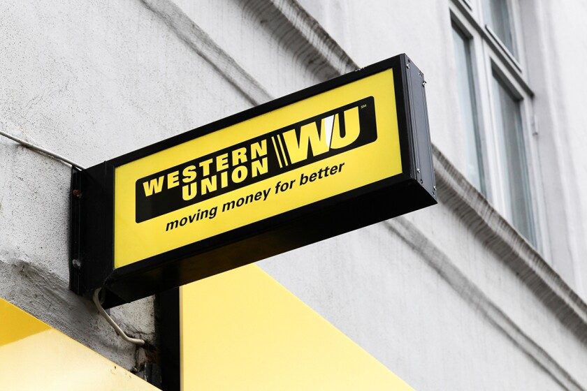 An executive for Western Union said the money transmitter supports the CSBS initiative after the company participated in a pilot program.