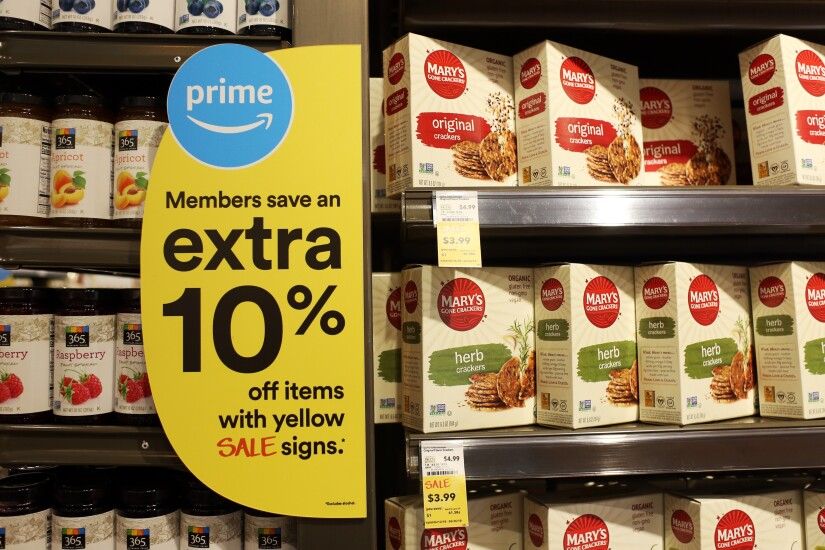 Amazon Prime discount at Whole Foods