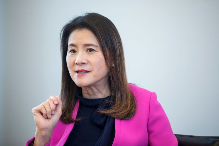 """""""Diversify and navigate volatility,"""" is the goal for many clients, according to Amy Lo, co-head of Asia Pacific wealth for UBS."""