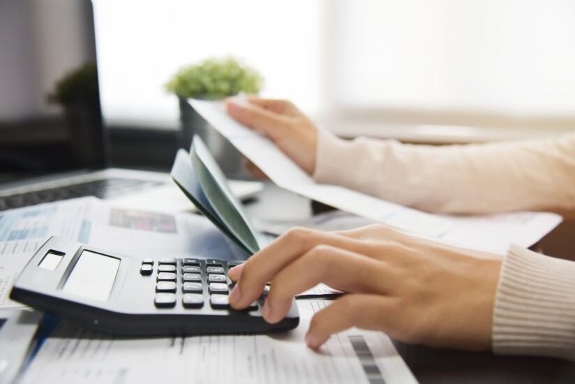 Servicing calculating debt