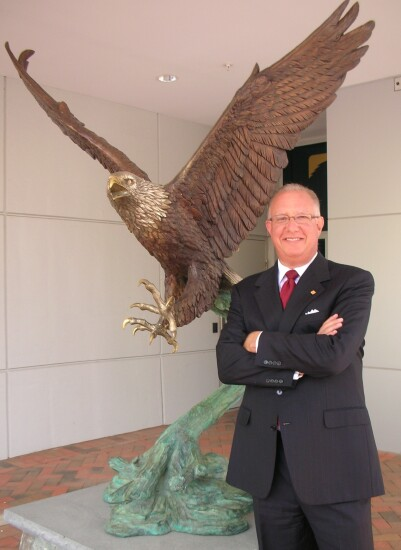 Ronald Paul, Eagle Bancorp's chairman, president and CEO.