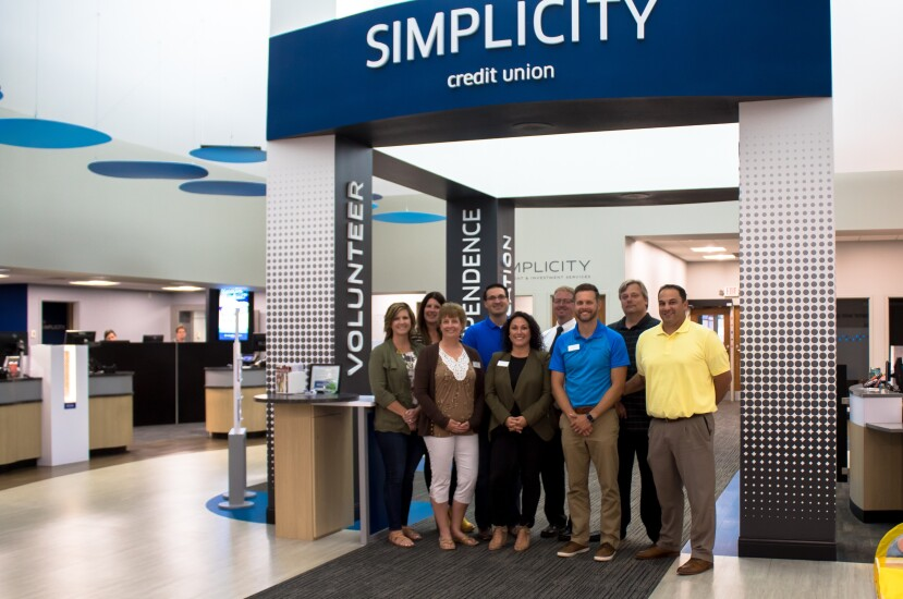 The Simplicity Credit Union management team